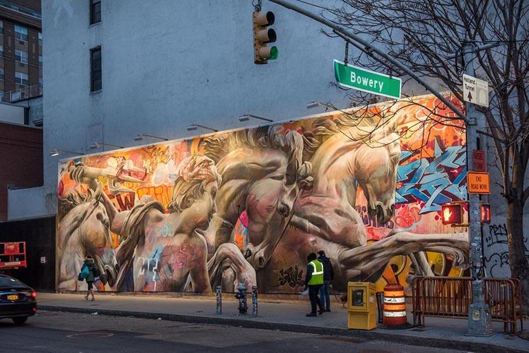 Houston Bowery Wall, New York City