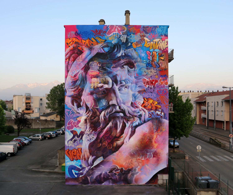 Grenoble Street Art Fest Pichiavo