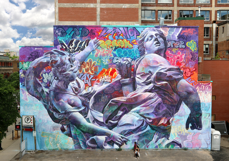 Mural Fest in Montreal Pichiavo