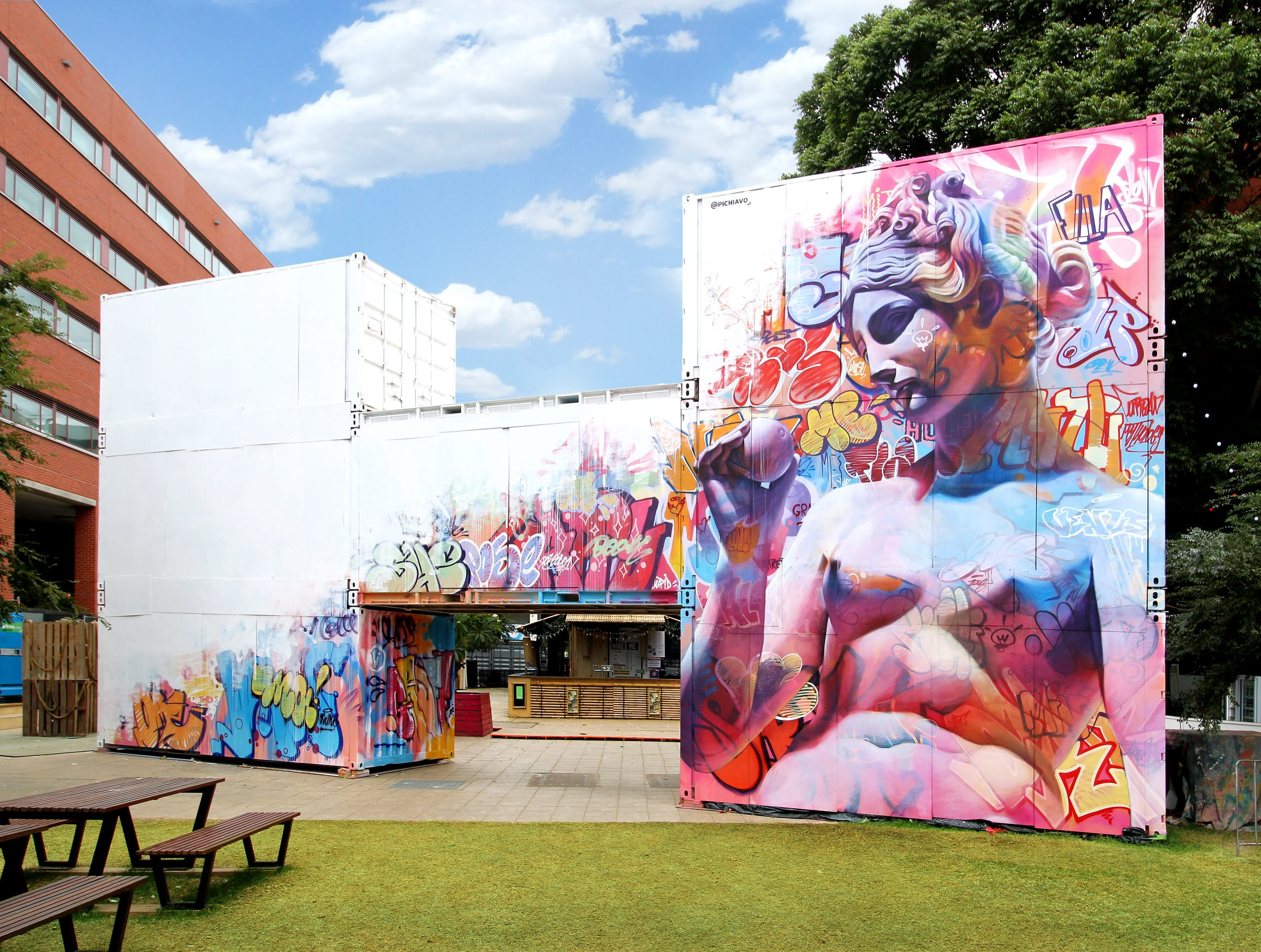 RCC Festival Container Structure in Adelaide