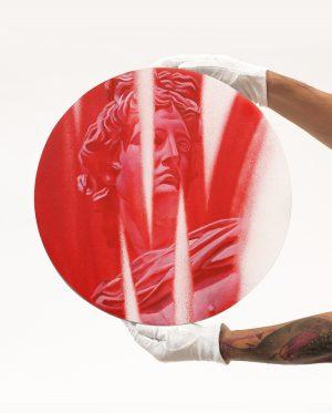 4_Graff-Ekfrasi Apollo_manos_Vivid Red