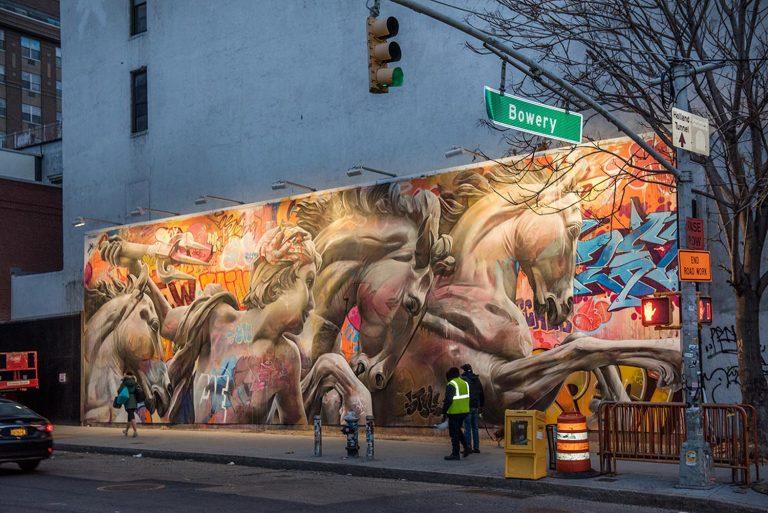 Bowery Wall NewYork Pichiavo eCooper