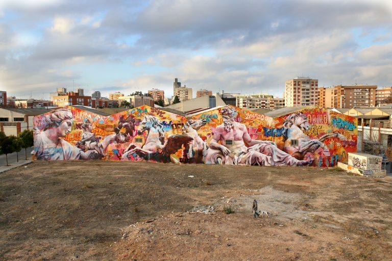 Ciutat Fallera Valencia Pichiavo Wall