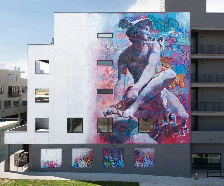 Hermes mural crush walls denver Pichiavo