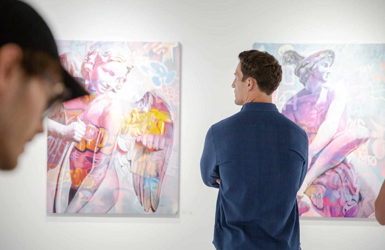 Lefkos exhibition Montreal Pichiavo @Olybernardi