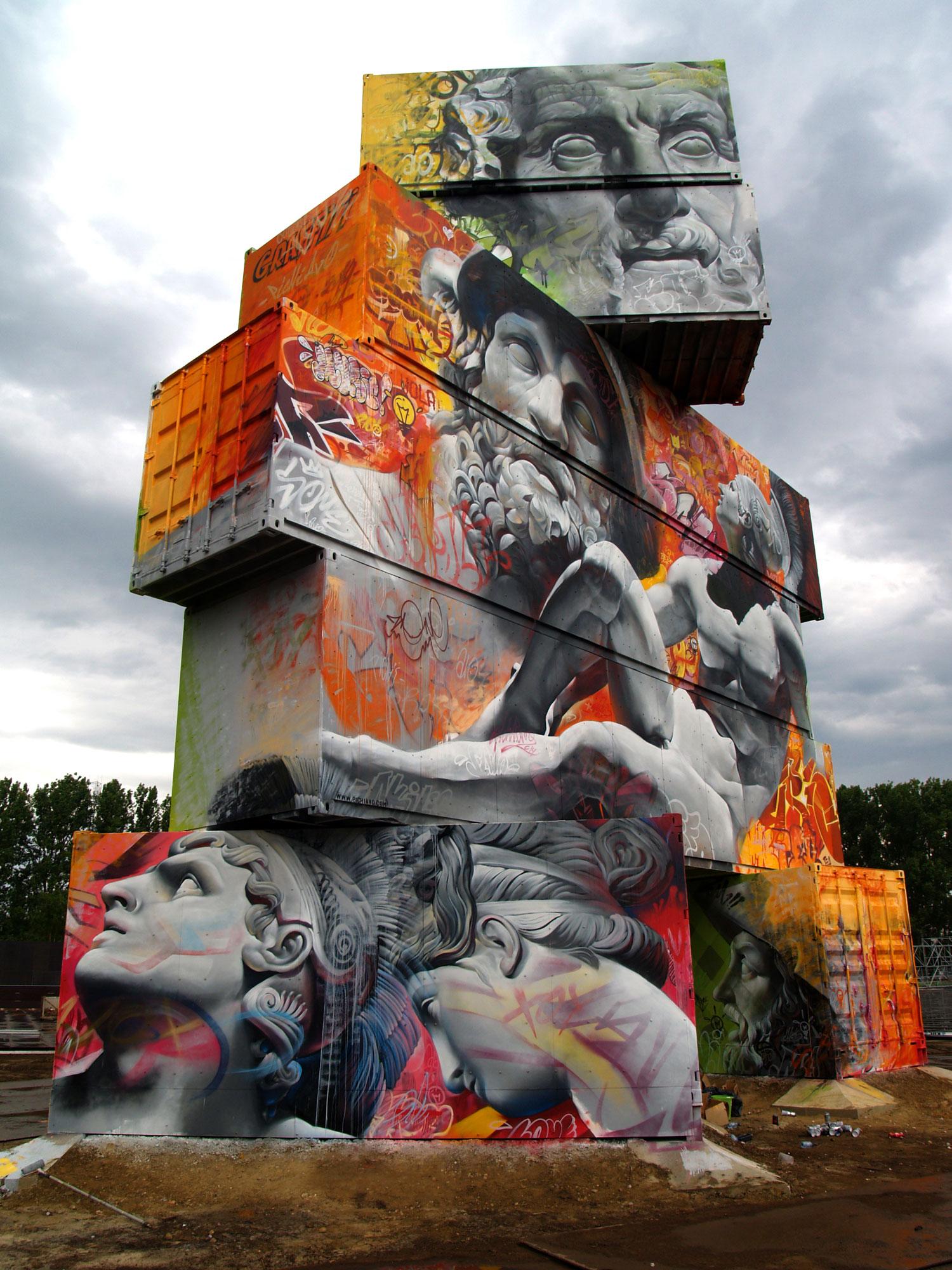 Northwest Walls Festival in Werchter - Belgium