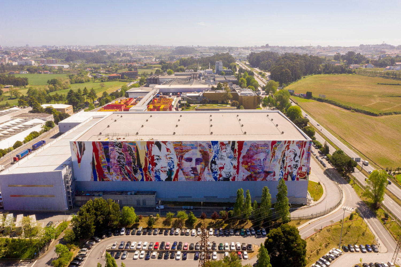 Mural Collaboration Vhils Pichiavo @expandingroots