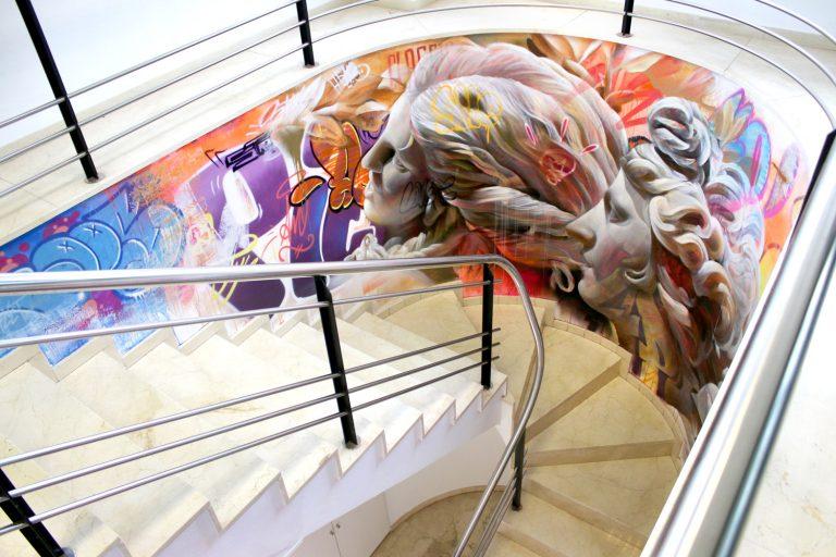 Wall Montana Colors Barcelona Stairs