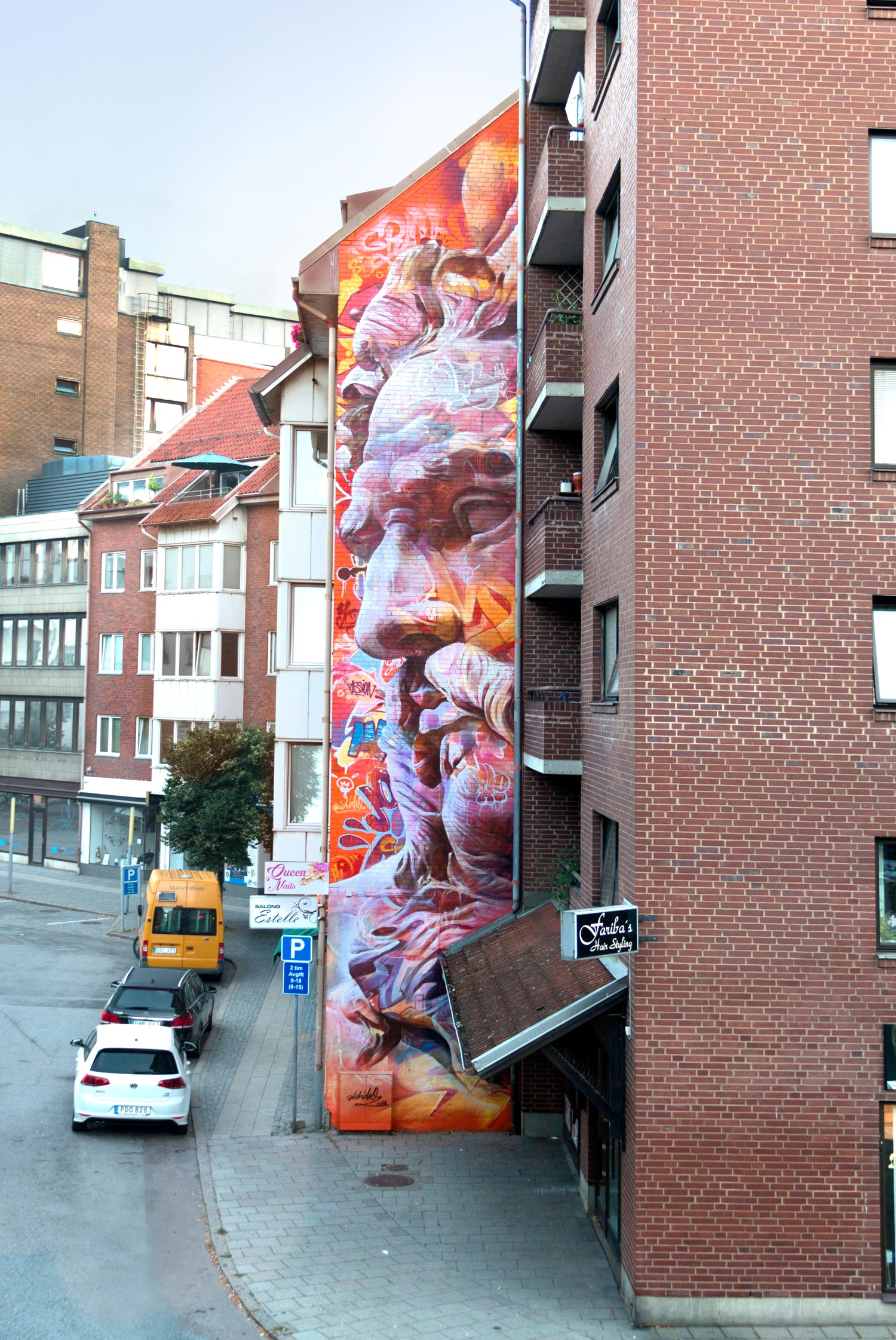 Wall in Herlsingborg Sweden Pichiavo