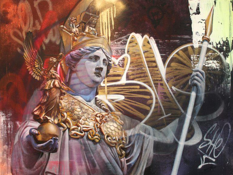 Athena Pallas Pichiavo canvas