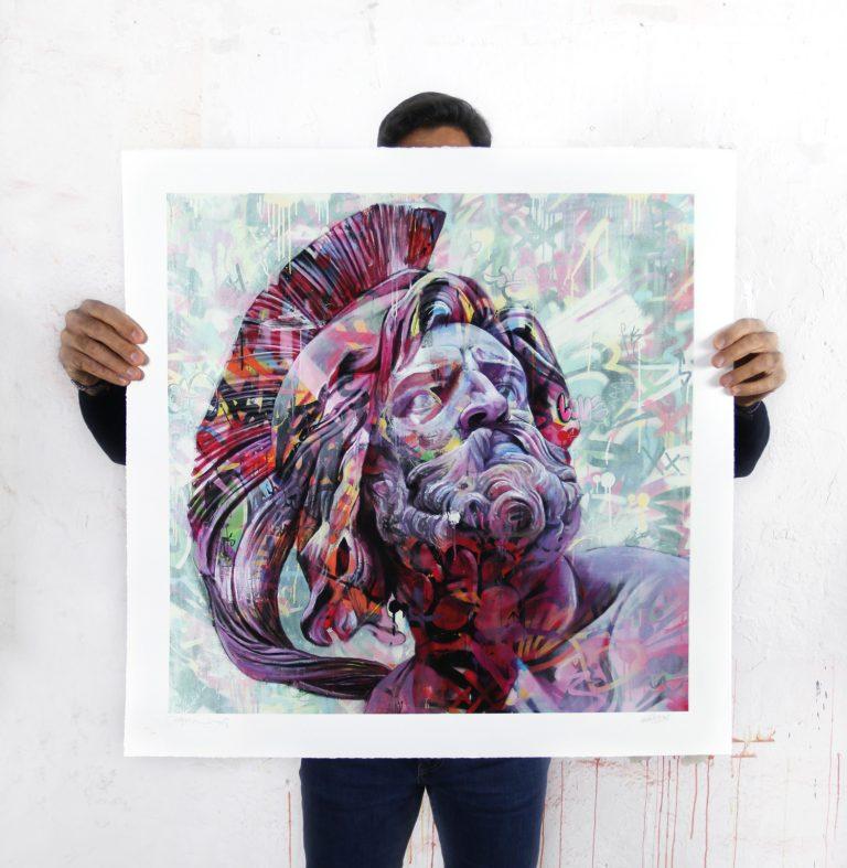Estratega print with Martin Whatson Pichiavo